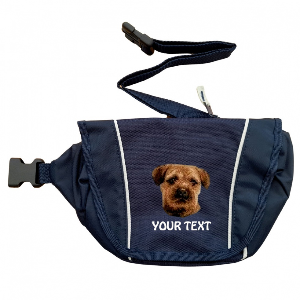 Border Terrier Personalised Special Offer Bumbag