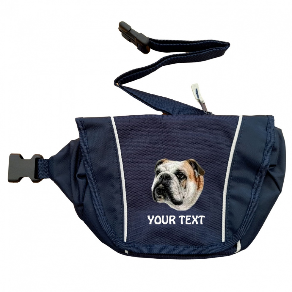 English Bulldog Personalised Special Offer Bumbag
