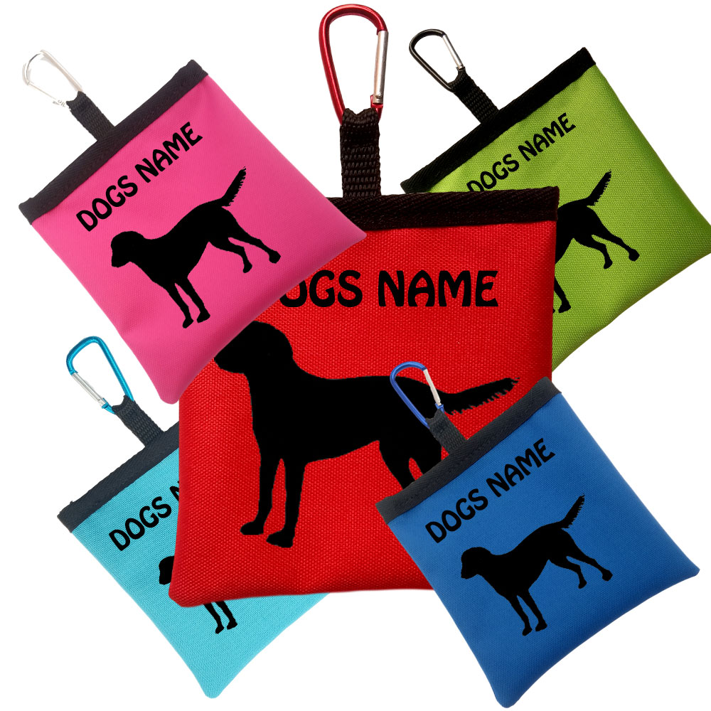 Chesapeake Bay Retriever Personalised Dog Training Treat Bag