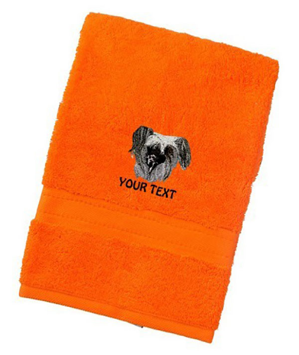 Chinese Crested Dog Personalised Dog Towels Luxury Range