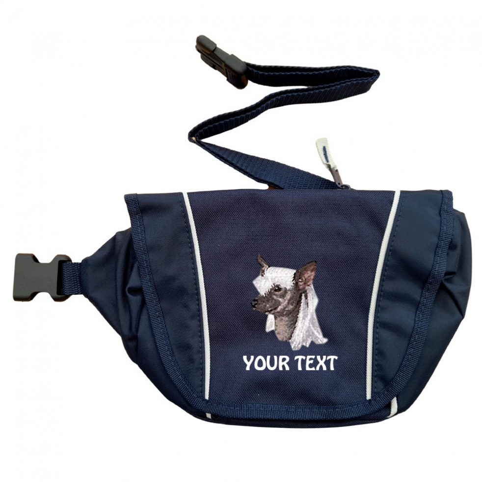 Chinese Crested Dog Personalised Special Offer Bumbag