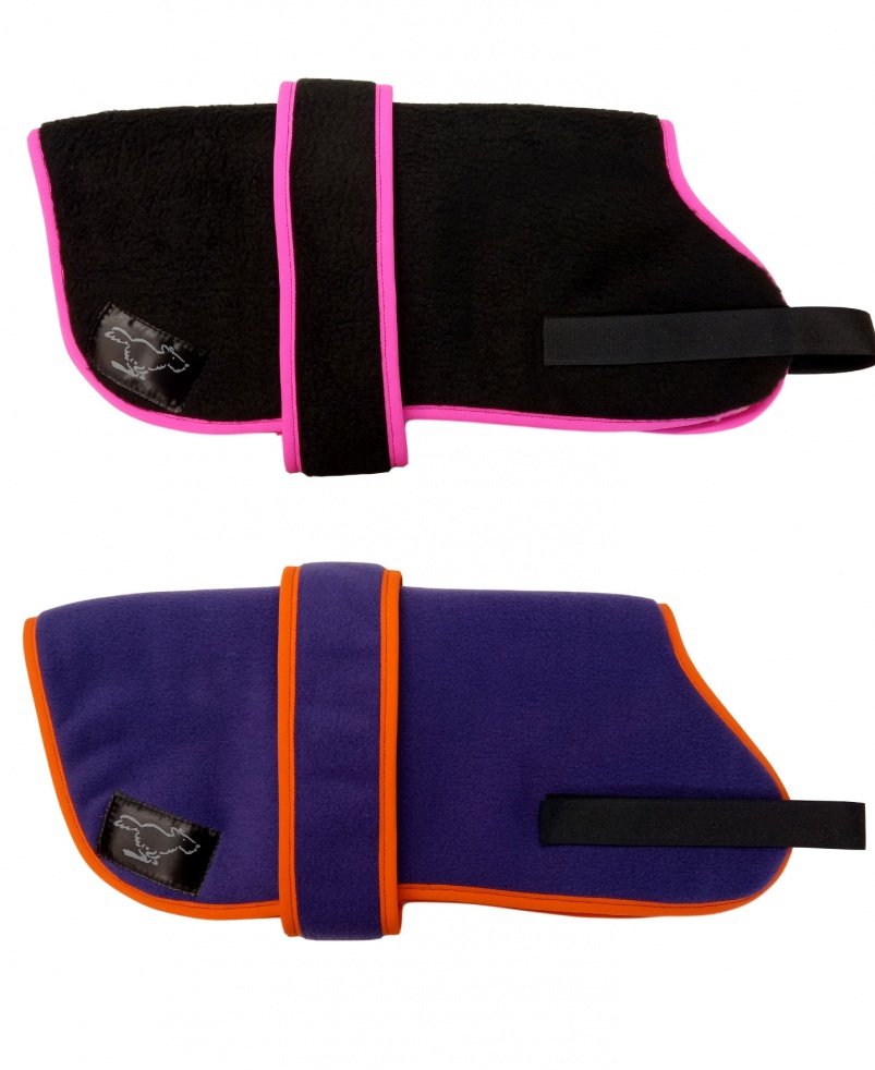 Personalised Fleece Dog Coats - Design Your Own Colours