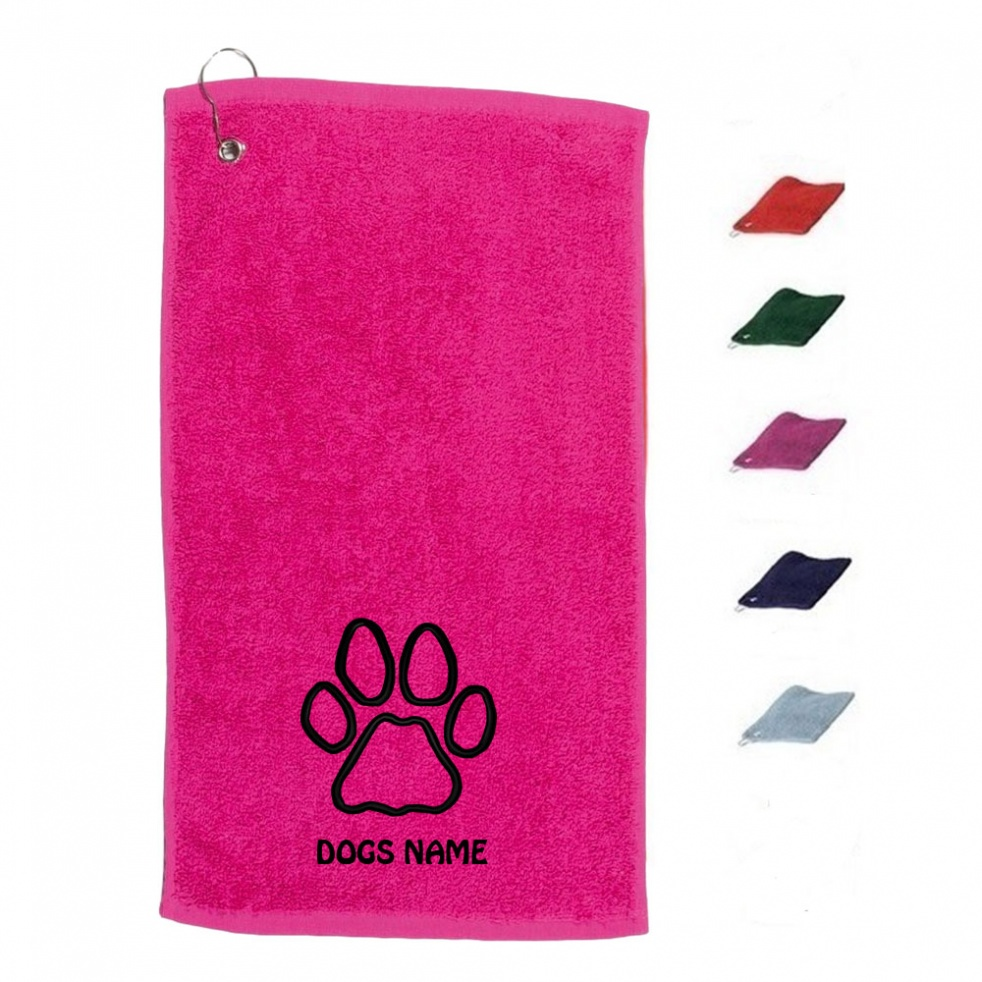 Personalised Dog Towel | Slobber Cloth