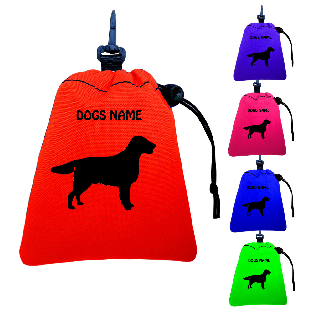 English Springer Spaniel Personalised Training Treat Bags - Clips To Dog Lead