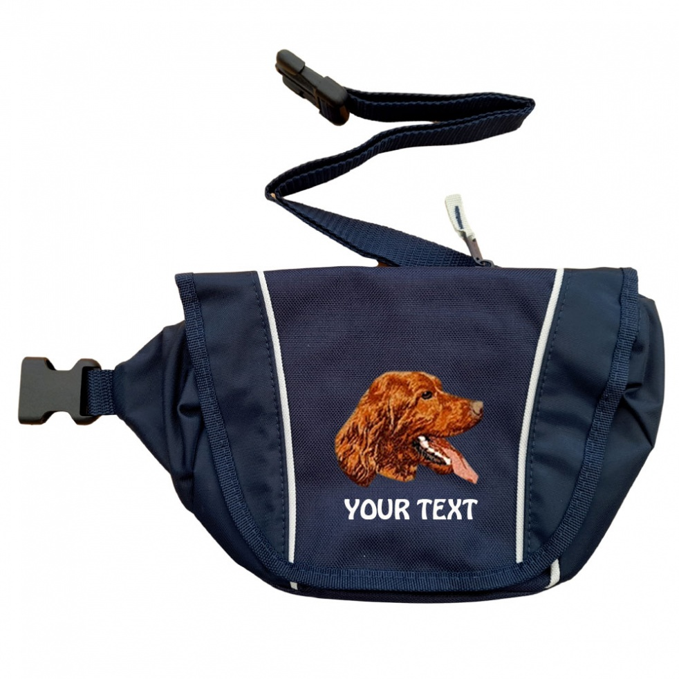 Irish Red Setter Personalised Special Offer Bumbag