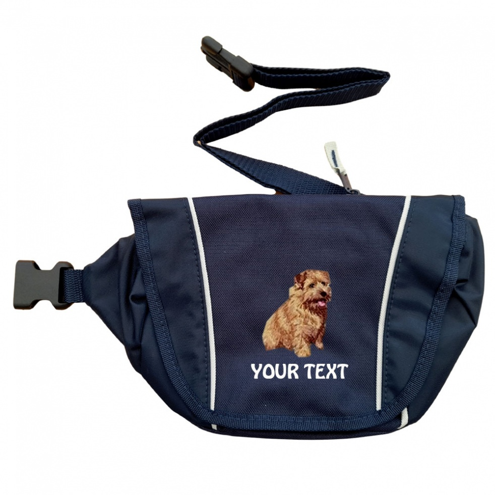 Norfolk Terrier Personalised Special Offer Bumbag