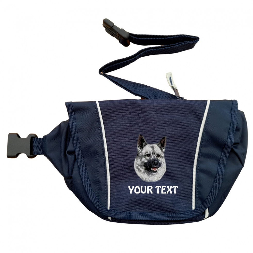 Norwegian Elkhound Personalised Special Offer Bumbag