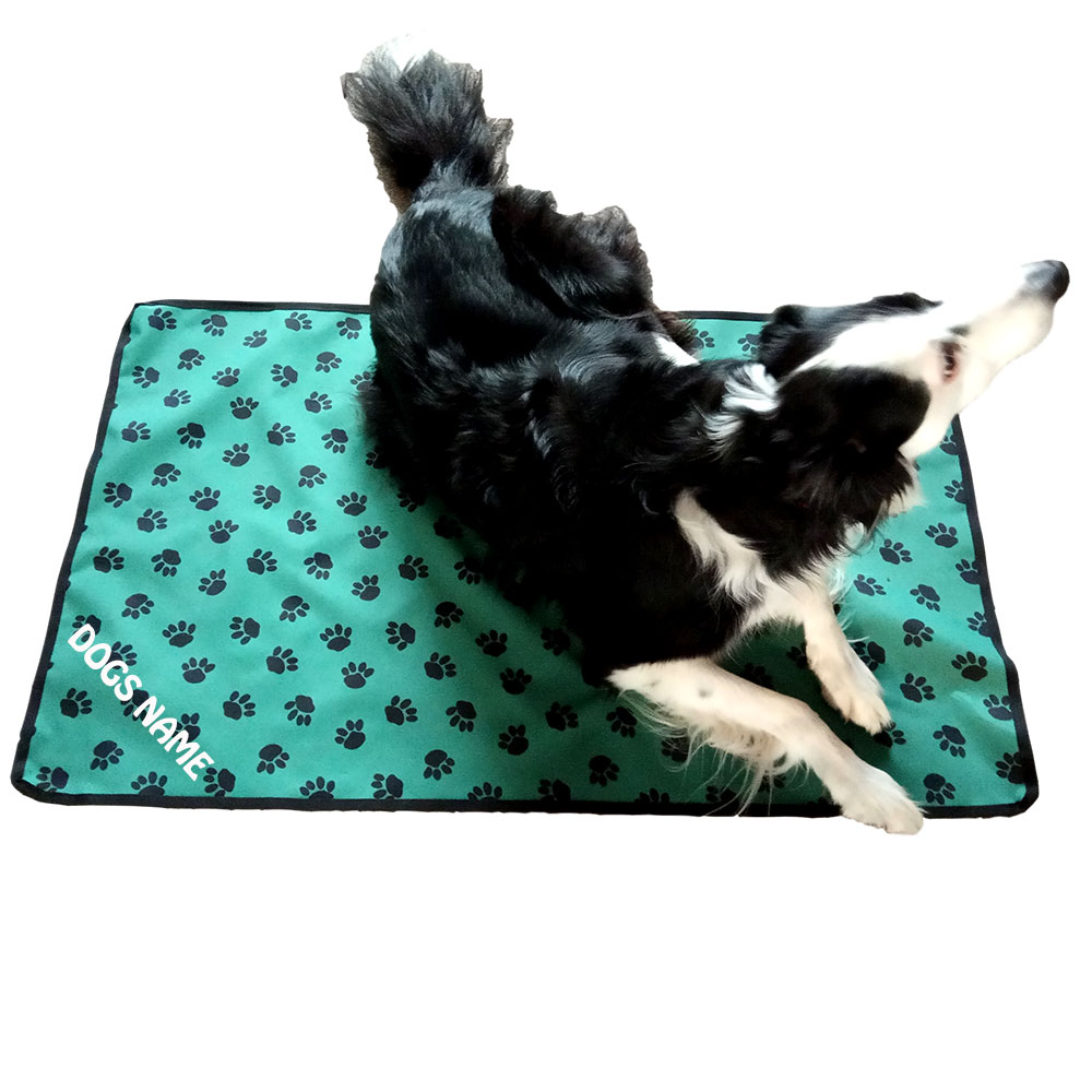 Waterproof Floor/Furniture/Chair Protectors Paw Print Design |