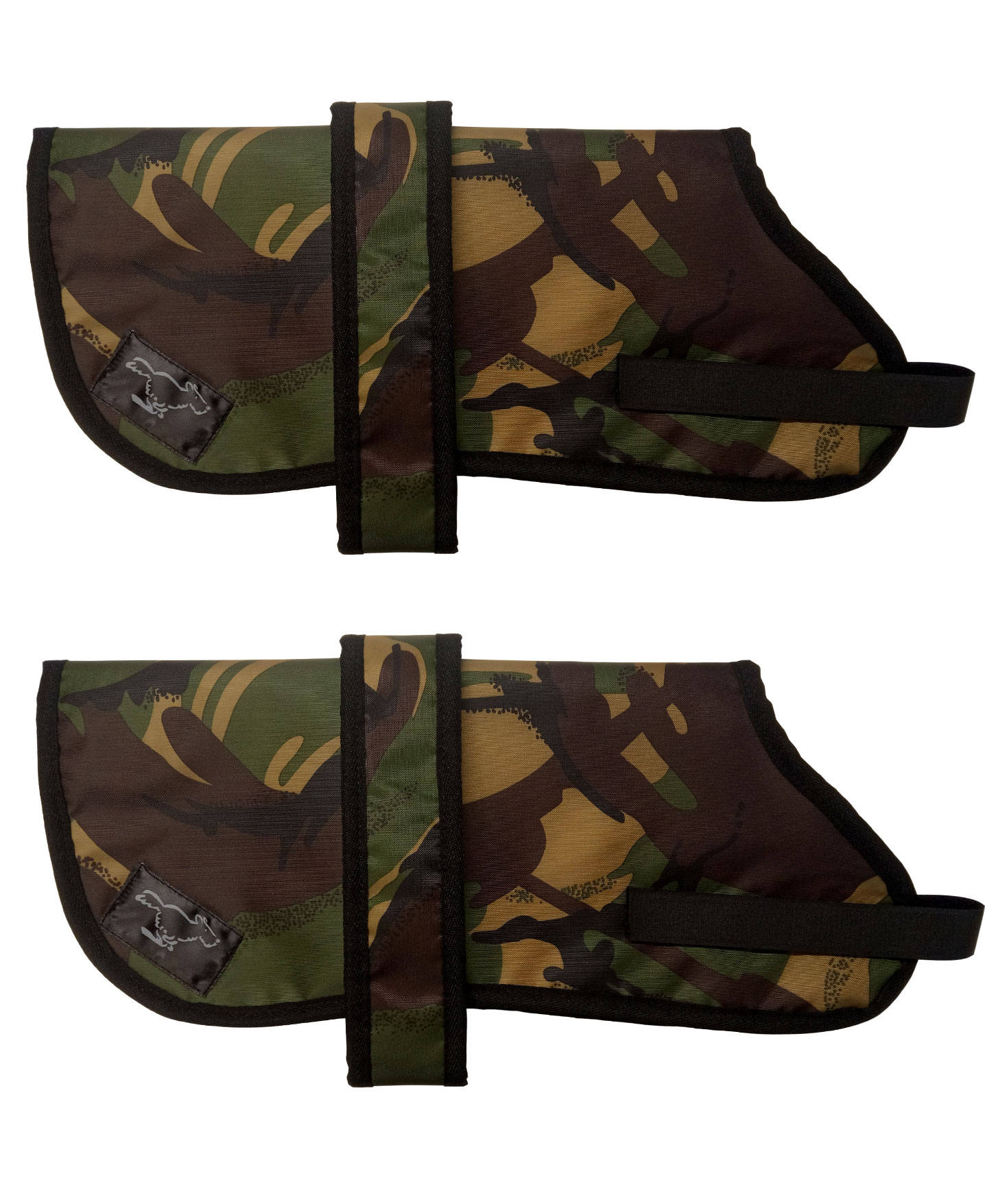 Jack Russell Terrier Personalised Waterproof Dog Coats | Camouflage Design| Sherpa Fleece Lining