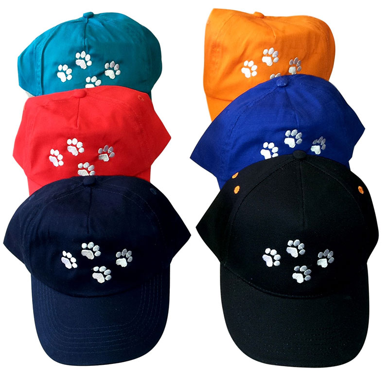 Half Price | Caps With Paw Prints