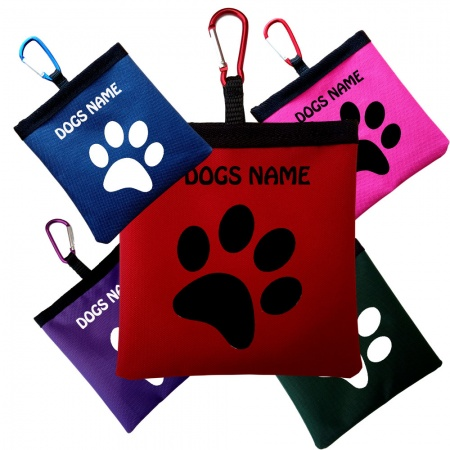 Dog Treat Bag Perfect For  Training - Single Paw Design