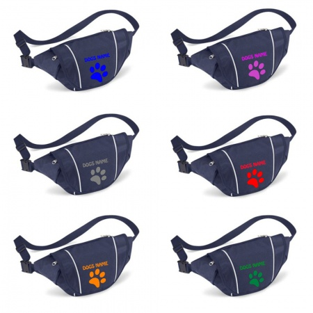 Personalised Paw Print Printed Special Offer Bumbag
