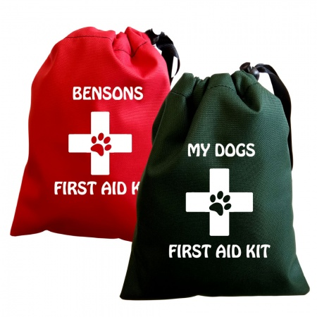 Personalised Dog First Aid Kit Bag