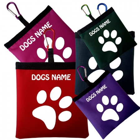 Personalised Nylon Dog Training Treat Bag  - Sale