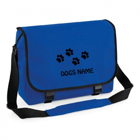 Personalised Messenger Bag - Royal Blue