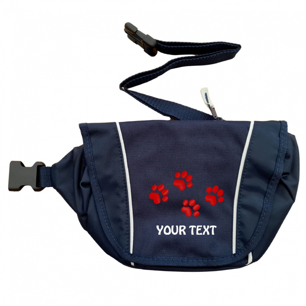 Personalised Pawprint Special Offer Bumbag | Tiny Pawprints Design