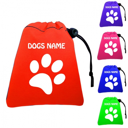 Dog Training Treat Bags & Pawprint - Pocket Version